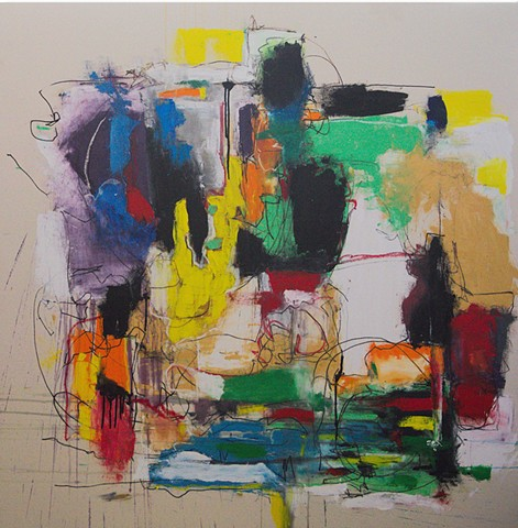 I'm a big softy because I have a tendency to cry in front of Joan Mitchell paintings.