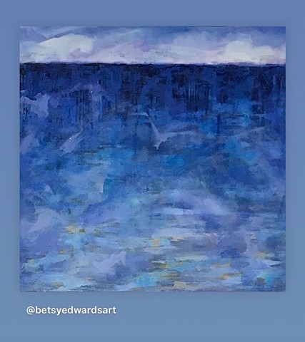 SOLD     COOL BLUE WATERS