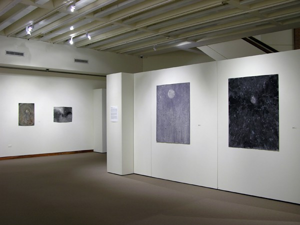 Luna-Sophia, Drawings.  Scales Fine Art Center, Wake Forest University, Winston-Salem, North Carolina