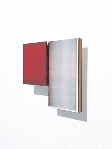 Contemporary art wall-mounted, painted construction, Non-objective, sculpture, abstraction