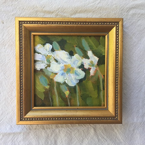 White Flowers-SOLD