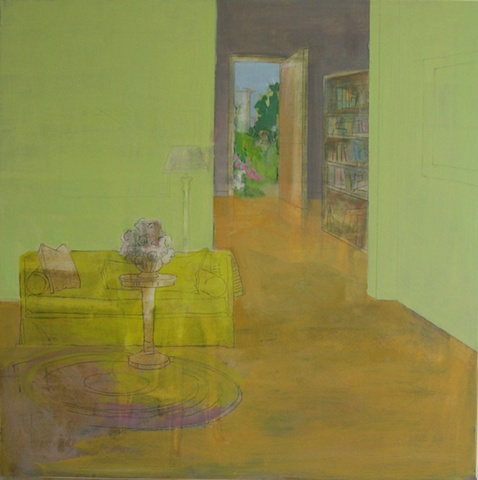 SOLD traces (yellow sofa)