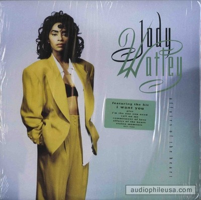 """Affairs of the Heart"" Album CD cover sleeve Recording Artist: Jody Watley MCA Records"