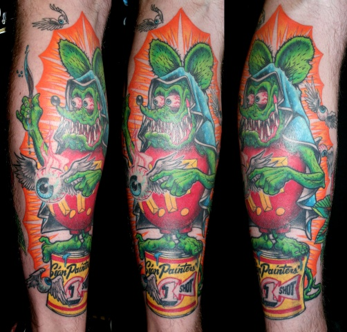 Rat Fink Mary