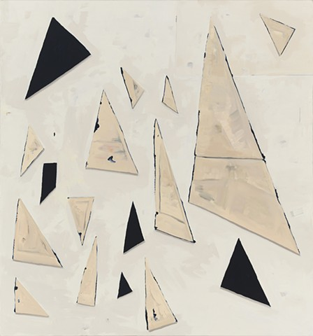 Canvas Triangles- Four Fronts and Twelve Backs