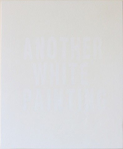 Another White Painting