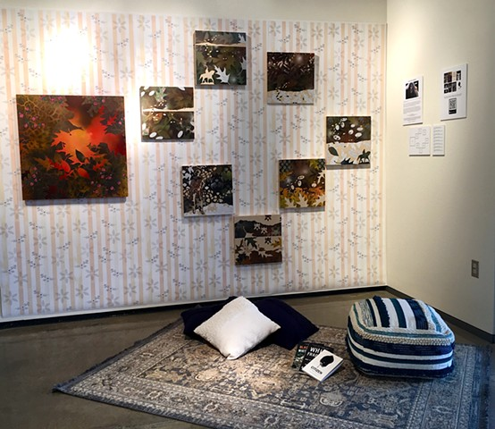 Patterns of Privilege - A Reading Room  Installation