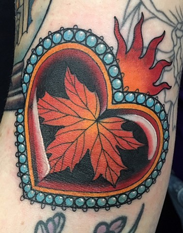 Maple Leaf Sacred Heart