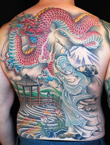 Dragon backpiece