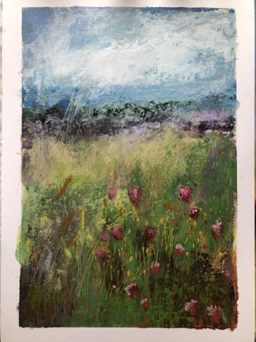 Winchester wild flowers journey 2 SOLD