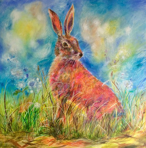 The Large Majestic Hare  Commissioned 2015