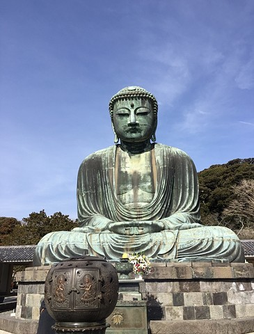 """Great Buddha(Kotoku-in)"""