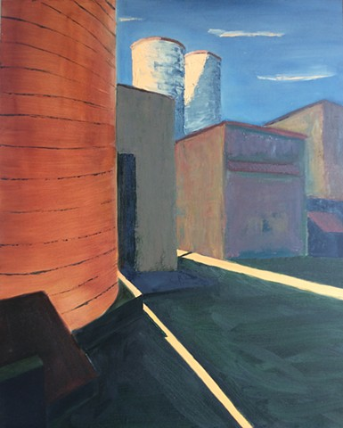 Silo Sunset, Easton