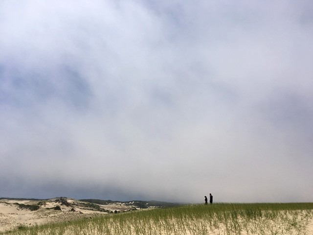 Dune walk in Truro, MA