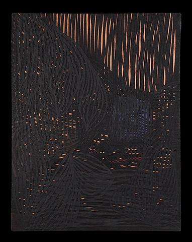 laser hand cut stencil paper wood black layers thick deep black the light forces and darkness