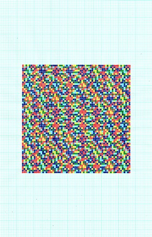 7-colour distribution (diagonal, 8x8 x 8x8)