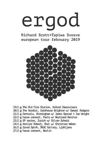 ergod duo tour, February 2019