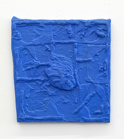 Blue relief