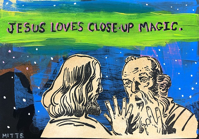 Jesus Loves Close-up Magic