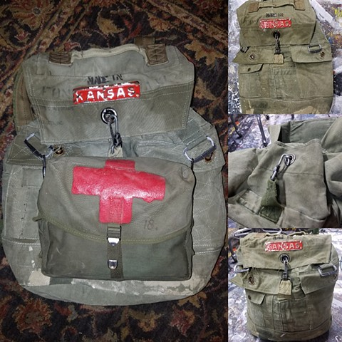 Duffel Bag Back Pack