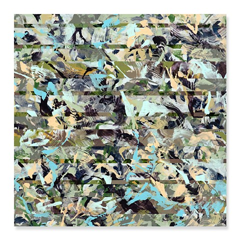 "John M. Adams, ""Acutely Aware of This"", Abstract painting, Contemporary painting"