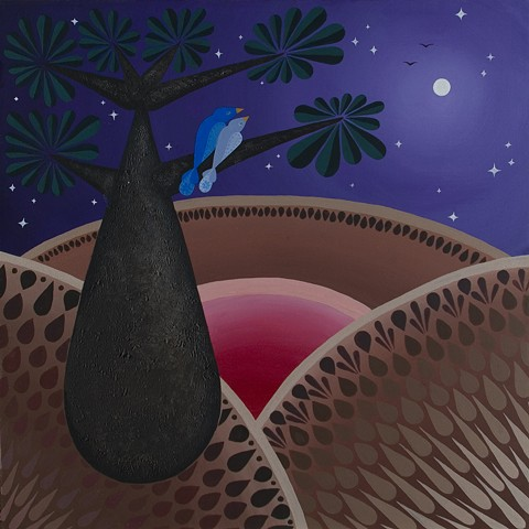 Baobab and Bluebirds