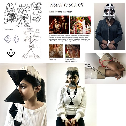 Niharika Sundarigari Parsons School of Design First Year Program:  Space & Materiality