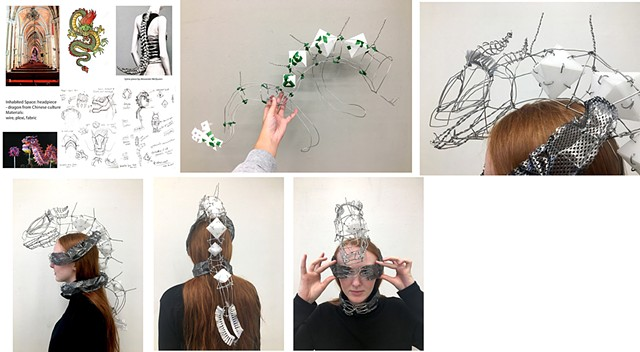 Julia Xian Parsons School of Design First Year Program:  Space & Materiality