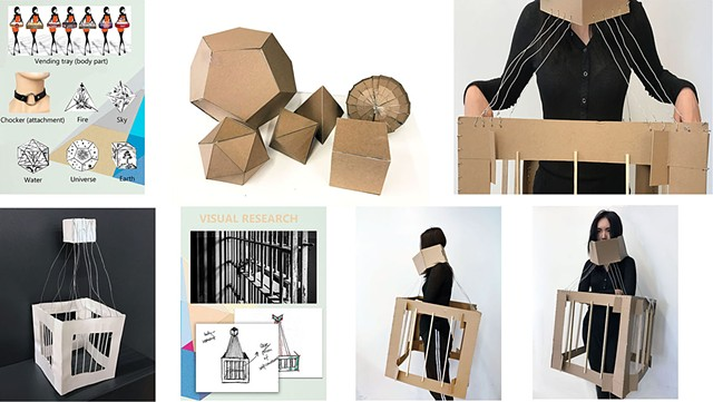 Yula Lee Parsons School of Design First Year Program:  Space & Materiality