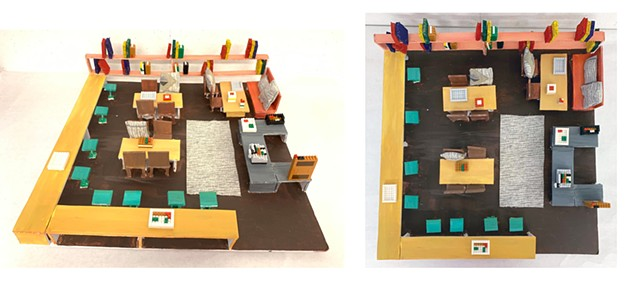 Team Coffee Shop Jennifer Kim, Anna Mezibish Parsons First Year Program:  Space & Materiality