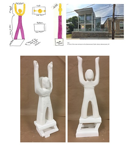 "Kathryn Romita Westchester Community College:  Sculpture 1 Assignment""Social Space- Monument""Design a monument related to your personal culture. Create a site proposal and orthographic drawings."
