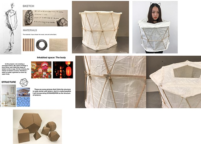 Qicong Li Parsons School of Design First Year Program:  Space & Materiality