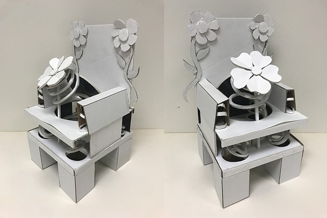 Charlotte Silver Naugatuk Valley Community College: 3D Design