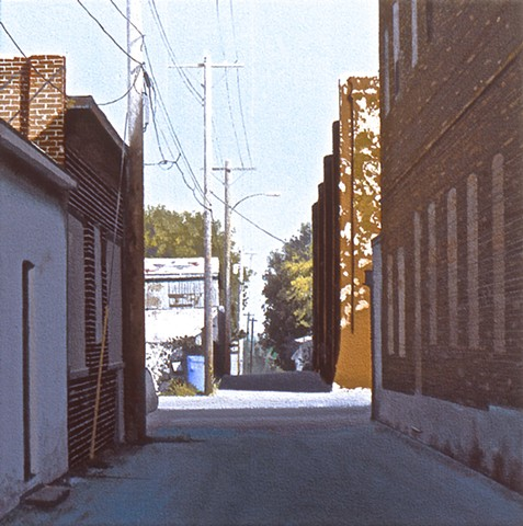 Nebraska City Alley #1