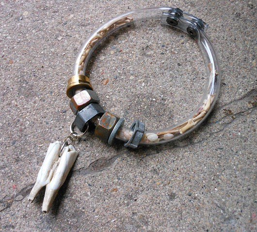 Bones and Stones Tooth Necklace