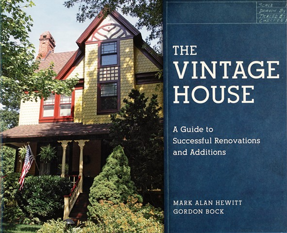 Gothic House Glen Ridge NJ Featured as a case study in  The Vintage House: A Guide to Successful Renovations and Additions  by Hewitt and Bock.