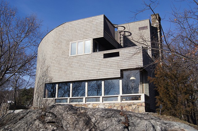 Exterior renovation. Robert Kliment. Frances Halsband. Cedar Shingles. Lead-coated copper. Hudson Valley.