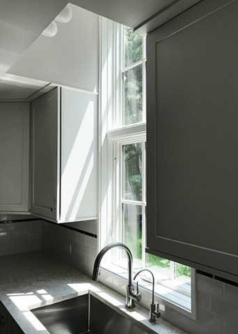 Wright Robinson Architects. Renovation. Addition. White Kitchen. Dormer. Big Window.