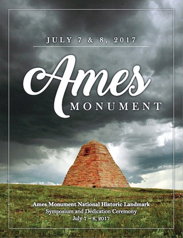 "Wyoming Cultural Trust  Symposium on the occasion of the Ames Monument becoming a National Historic Landmark.  Laramie WY, 7 July 2017  Mark Wright's closing lecture:  ""H H Richardson's Ames Monument as Architecture"""