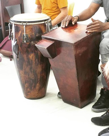 Afro-Cuban percussion workshop