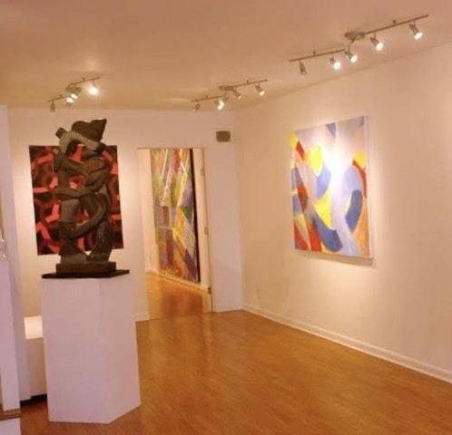 Yellow, Red, Blue, Neoteric Abstract VII Exhibition, Limner Gallery, 123 Warren Street, Hudson, NY