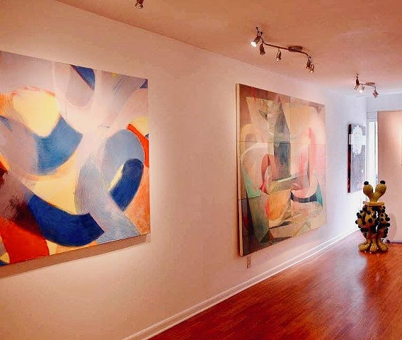 Red, Yellow, Blue, Neoteric Abstract VII Exhibition, Limner Gallery, 123 Warren Street, Hudson, NY