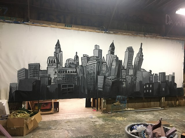 misc backdrop 1 (New York skyline)
