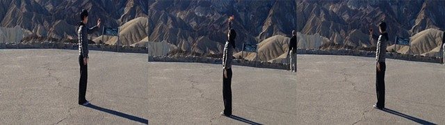 Vertical Panorama: Zabriskie Point (stills)