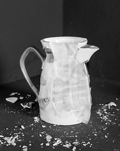 Repaired Pitcher