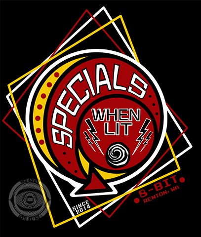 Specials Pinball Team shirt design
