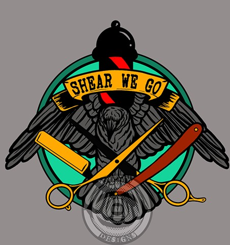 Shear We Go logo