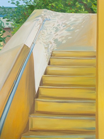 Stairs after Sargent