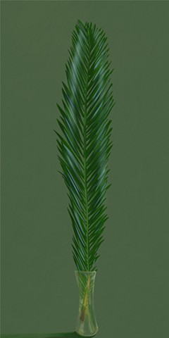 Digital Study Palm Frond