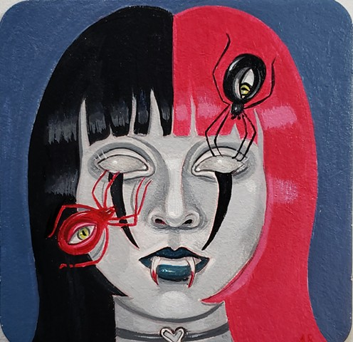 """Gloom Girl""  by Amy Regutti"